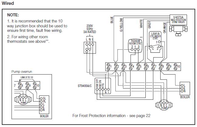 honeywell sundial wiring diagram y plan  zen diagram, wiring diagram
