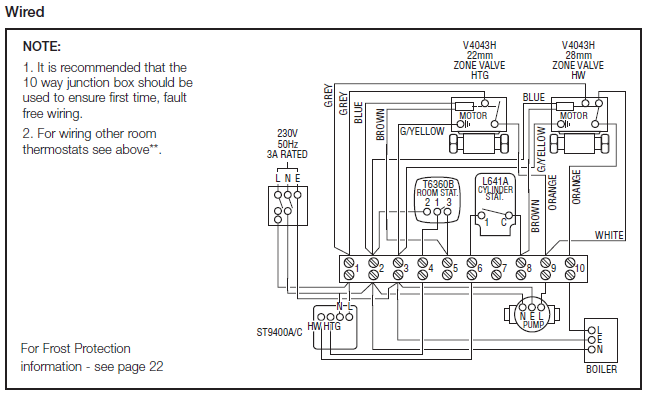 honeywell junction box wiring diagram   37 wiring diagram