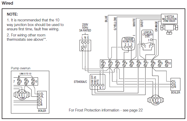 boiler pump overrun wiring diagram   34 wiring diagram