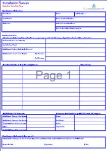 Gas Survey Forms - Variation to Original Survey Form TN